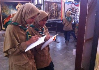 "Outdoor Learning ""Gedung Disbudpar Jombang"""